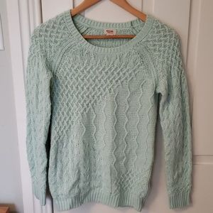 Mossimo mint sweater
